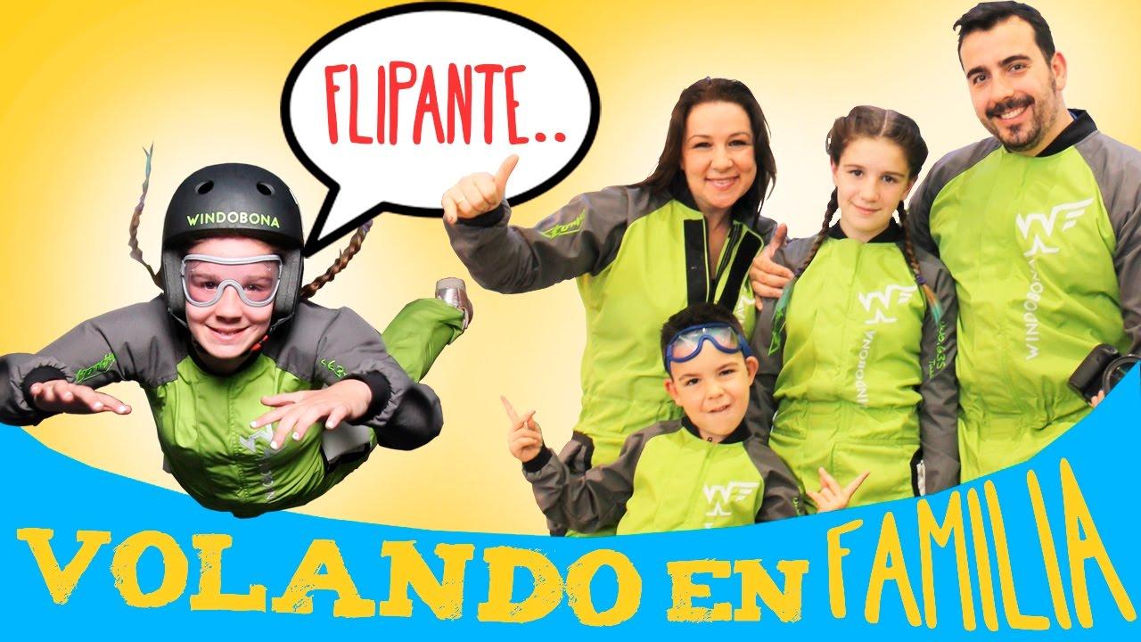 Flipante Volando En Familia En El Tunel Del Viento Juegos Y Juguetes En Familia