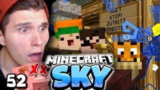 SIE HABEN UNSERE TIERE GETÖTET! & DAS TOR IST ENDLICH FERTIG! ✪ Minecraft Sky #52 | Paluten