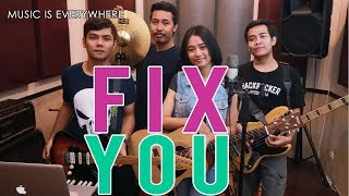 Fix You - ColdPlay - Cover Band [ Music Everywhere GabStudio ]
