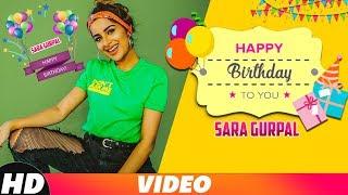 Sara Gurpal | Birthday Wish | Video Jukebox | Happy Raikoti | Sukh-E | Goldy Desi Crew