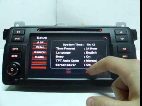 Navigatie BMW seria 3, E46.wmv - YouTube