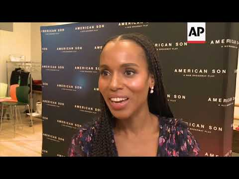 Kerry Washington, Steven Pasquale, Jeremy Jordan, Eugene Lee, Kenny Leon on the timeliness of their