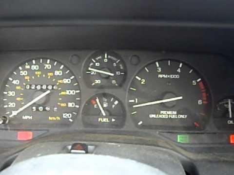 1991 Ford Thunderbird SC Rev
