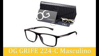 Unbox Armação de Óculos OG Grife 224-C Masculino