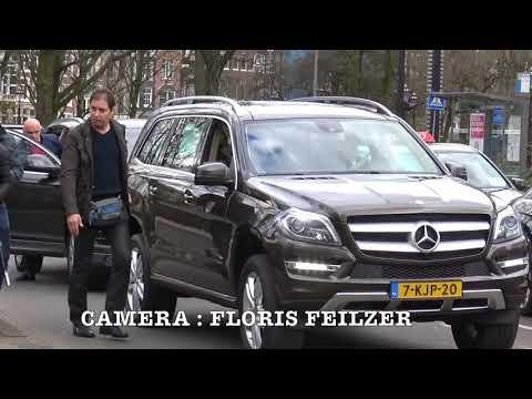 Koning Mohammed VI in Amsterdam