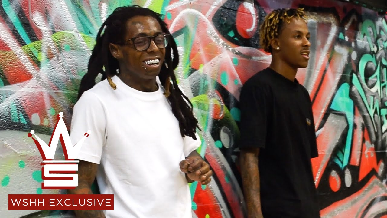 Lil Wayne Amp Rich The Kid Skateboarding Vlog Wshh