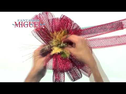 Como hacer una corona navide a con chenilles youtube - Como hacer coronas navidenas ...