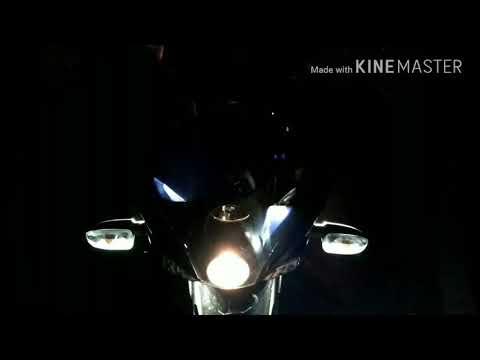 LED DRL Flashlight Parklight 6000k Cool light Pulsar 220 light modification modified