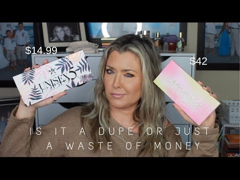 IS IT A DUPE OR JUST A WASTE OF MONEY | UNISEX 5 Vs LEMONADE | HOT MESS MOMMA MD