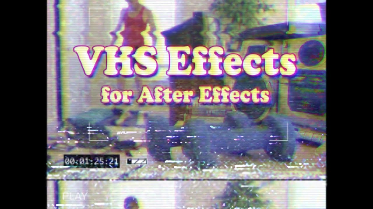 Vaporwave After Effects