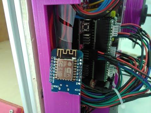 Membuat Ulang Printer 3D Bagian 7 - Modul Wifi 3D Printer esp8266