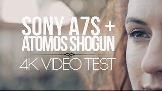 a7s shogun 4k test the perfect camera