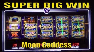 ★SUPER BIG WIN☆MOON GODDESS Slot machine (Bally) Live play & Bonus / $3.00 Max Bet @ San Manuel☆彡