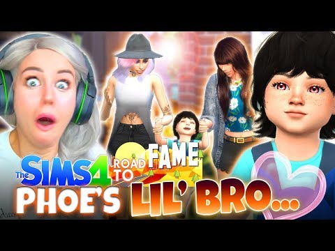 HOLLY'S BABY REVEALED! 😱 (The Sims 4 ROAD TO FAME #7!🤩)