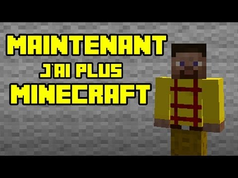"Thumbnail: NORMAN - MAINTENANT J'AI PLUS MINECRAFT (Parodie Minecraft ""Maintenant j'ai Google"")"