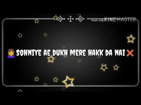 Whatsapp status (kalli behke sochi)