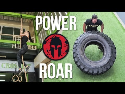 MY FIRST SPARTAN TRAINING CLASS | Power Roar gym in Bangkok