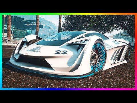 GTA Online NEW DLC Super Cars/Vehicles Released - Pegassi Tezeract, Vapid Ellie & MORE! (GTA 5 DLC)