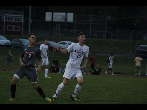 Tate Rietkirk scores goal for Amherst soccer vs. Mount Greylock