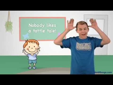 The Tattling Song   Music for Classroom Management