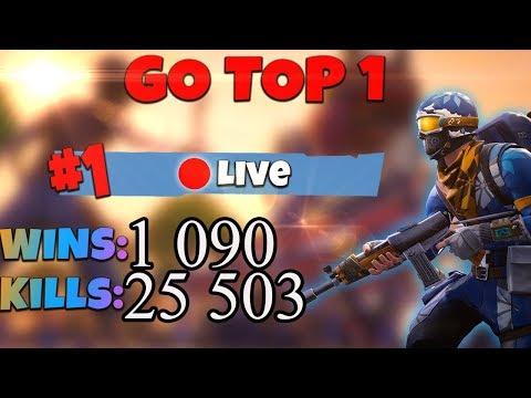 [FR/PC/LIVE] FORTNITE EN SOLO  / Wins : 1090