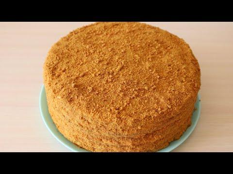 Крем для торта для медового торта в домашних условиях рецепт
