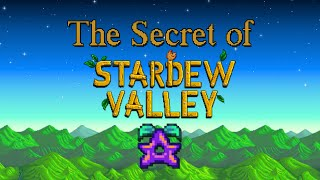 Everything we know about the secret of Stardew Valley!