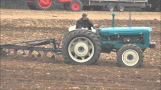 Classic & Vintage Tractors at Berwick St John Country fair Dorset 14 September 2014