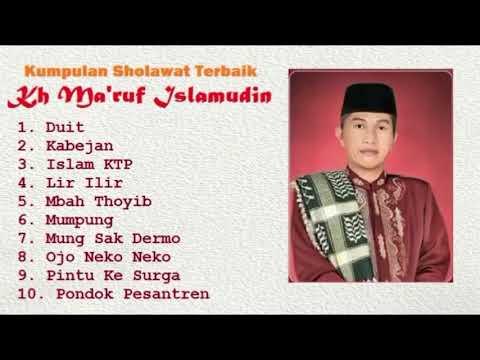 Sholawat Terbaik KH. Ma'ruf Islamudin || Rebana Walisongo