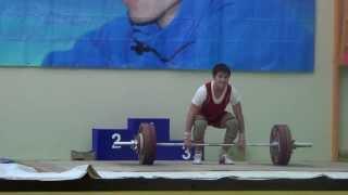 Торопов Влад толчок 140 кг 16 лет