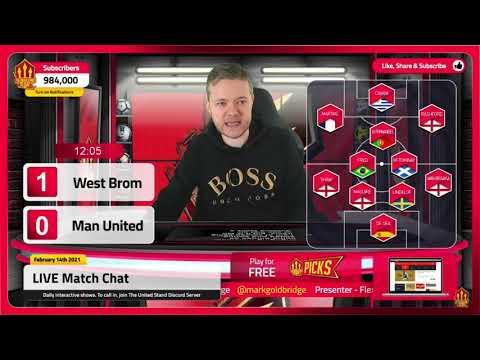 GOLDBRIDGE Best Bits   West Brom 1-1 Man United