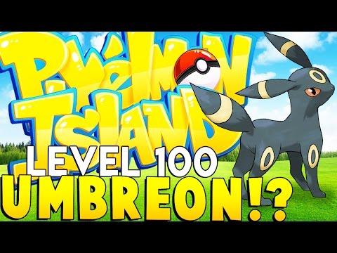 EVIL UMBREON (LEVEL 100 DARK TYPE) - Minecraft Pixelmon Island - Pokemon Mod