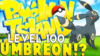 EVIL UMBREON (LEVEL 100 DARK TYPE) - Minecraft Pixelmon Island - Pokemon Mod