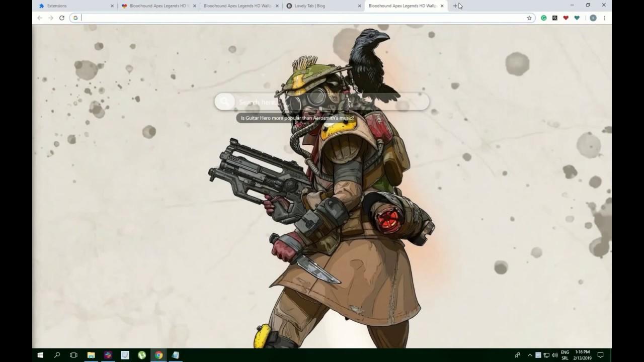 Great Bloodhound Apex Legends Skin Wallpaper New Tab Chrome Theme