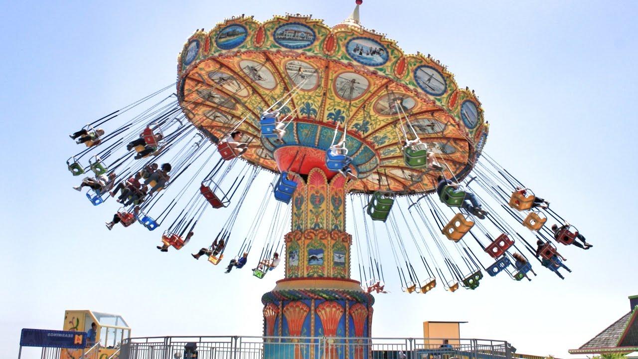 Stranger Things Theme Park Flat Ride Carousel Coaster