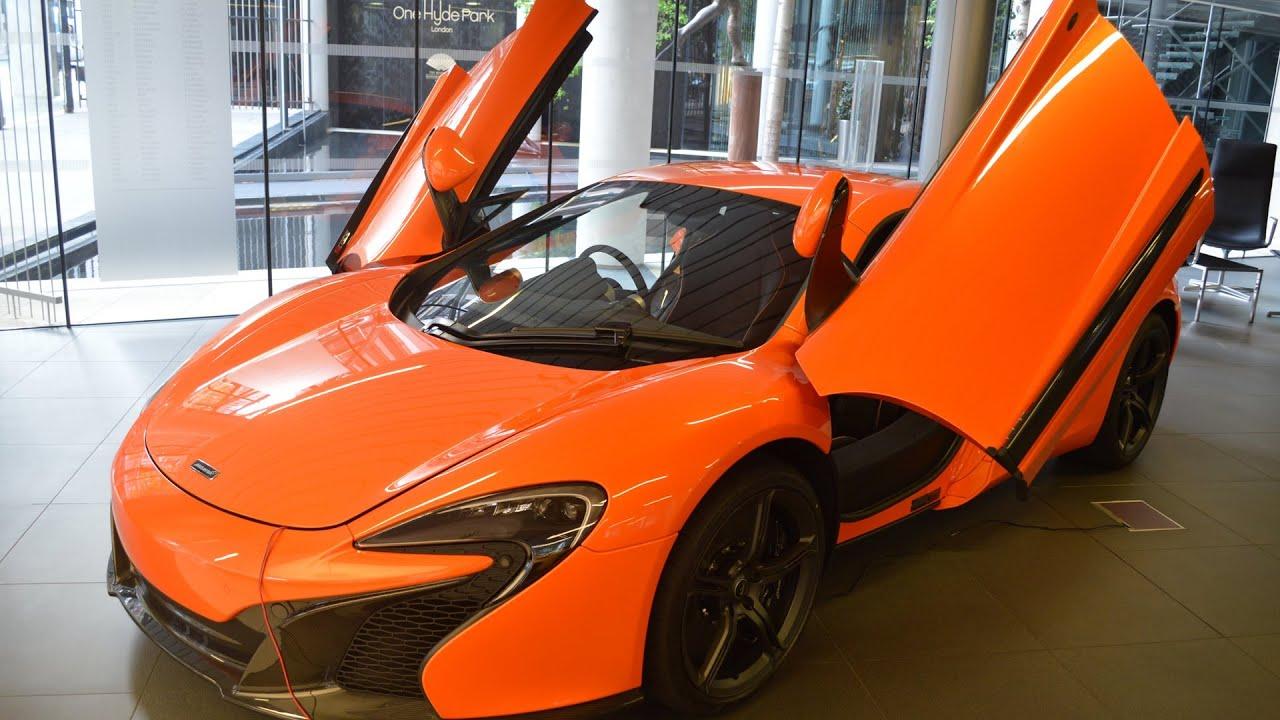 Mclaren 650s Orange Walkaround Youtube