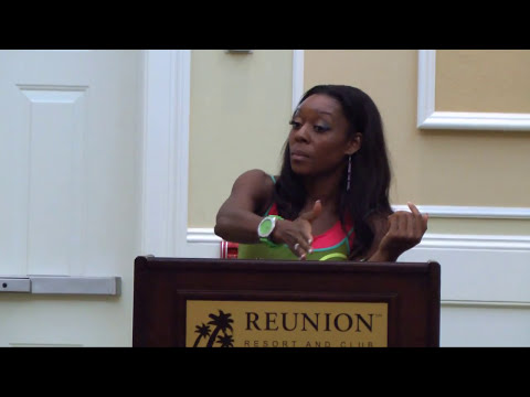 Community Central TV:  Ashley J. Johnson takes STAGE at the Discover a New You Conference
