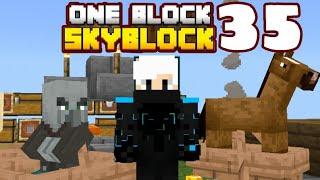 Minecraft Pe - Gameplay One Block SkyBlock - Part 35