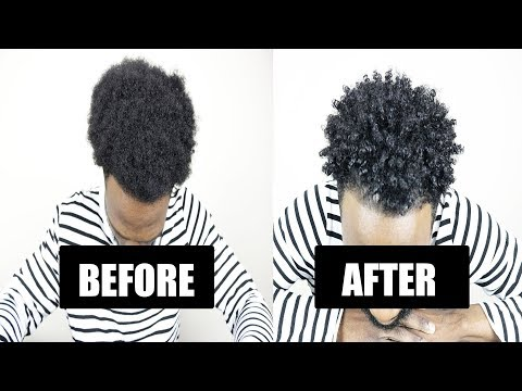 A Guide To Curly Hair For African American Men