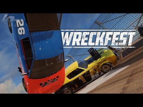 DEATHLOOP & HELLRIDE + MOON GRAVITY/PINBALL MOD! – WRECKFEST | Lets Play Wreckfest