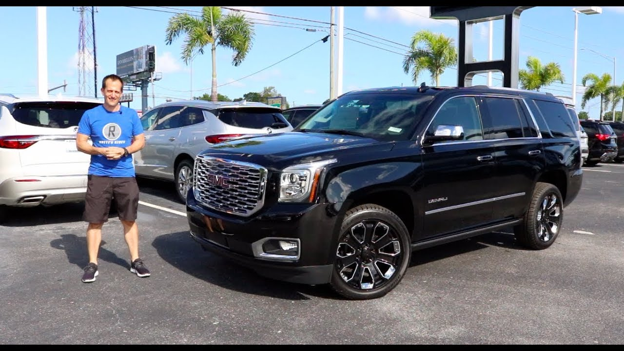 Is The 2019 Gmc Yukon Denali Ultimate Black Edition The King Of Suvs