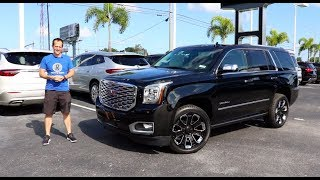 Is the 2019 GMC Yukon Denali Ultimate Black Edition the KING of SUVs?