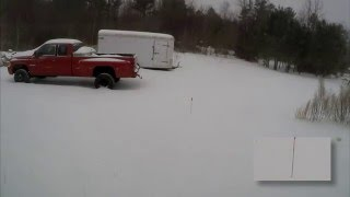 24hours of snow in 2 minutes