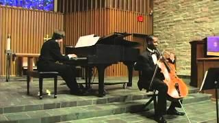 'Cello and Piano — Ebony and Ivory
