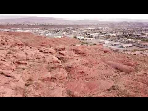 Drone St. George, Utah | TRAVEL BLOGGERS DRONE RED ROCKS DRONE PIONEER PARK DRONE DIXIE