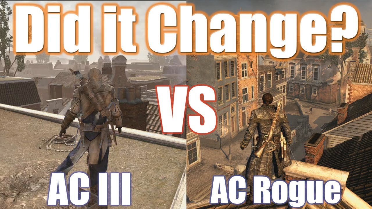 Ac Iii Vs Rogue New York Comparison Youtube