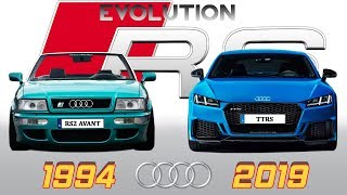 AUDI RS - Evolution From 1994~2019