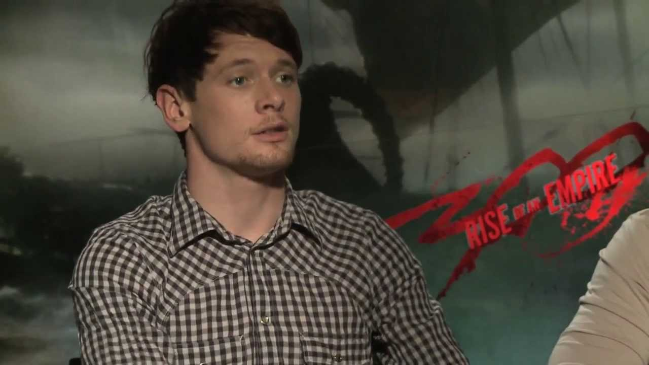 Jack O'Connell on 300: Rise of An Empire - YouTube