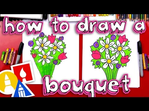 how-to-draw-a-flower-bouquet