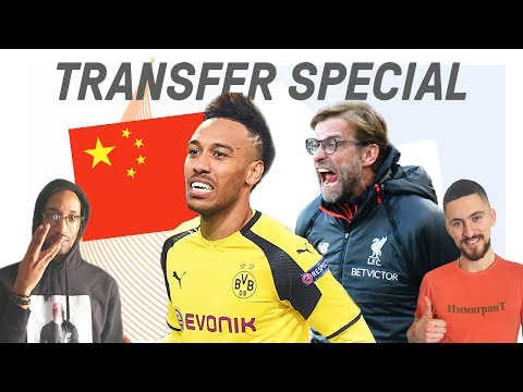 Will Aubameyang Reject Liverpool for China? | Comments Below Transfer Special